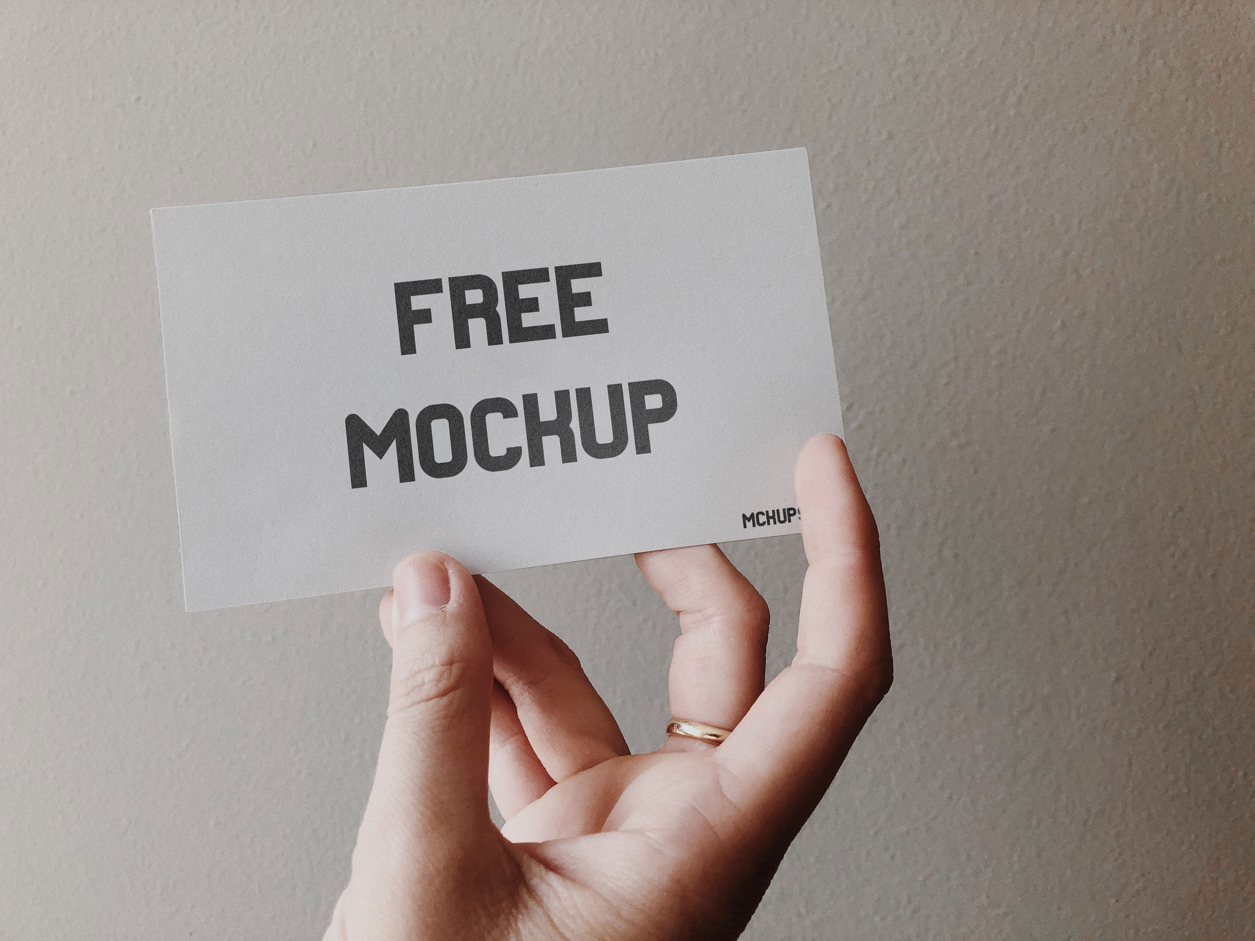 free business card mockup  free mockup download