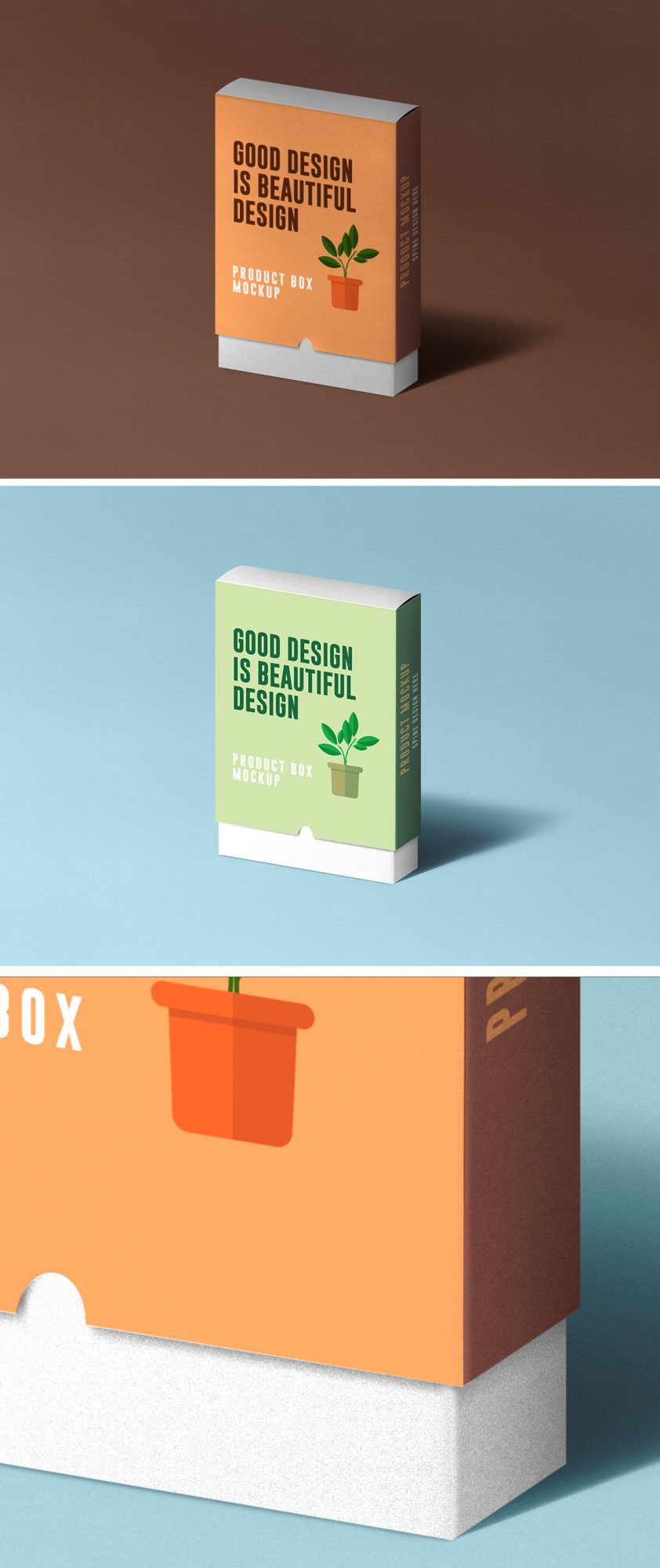 2090+ Product Box Mockups Free Download for Branding