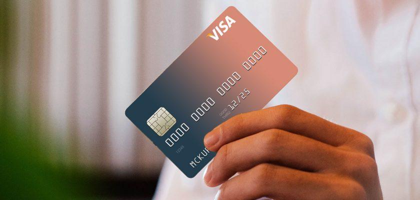 free credit card psd mockup