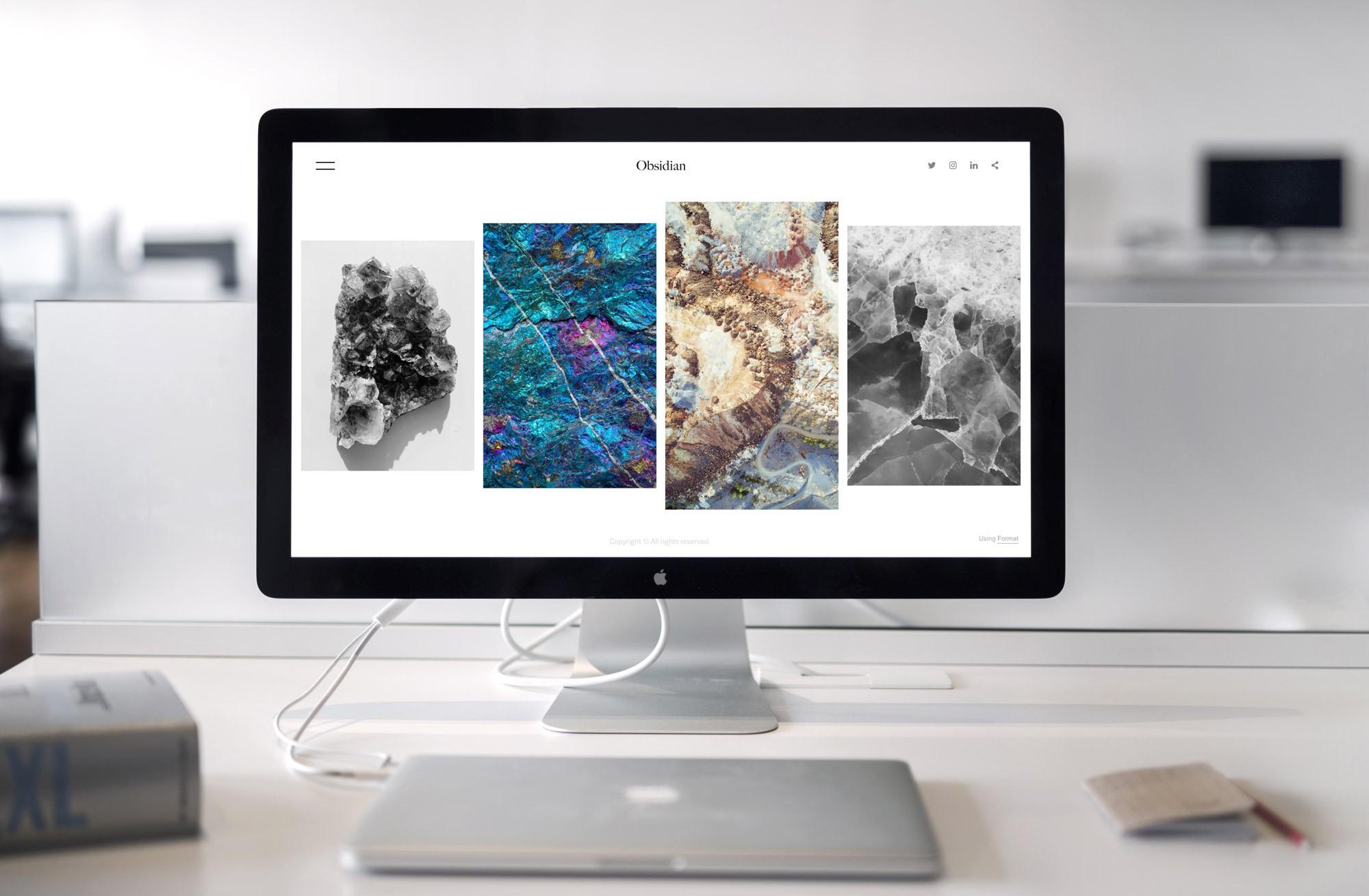 apple display monitor mockup preview