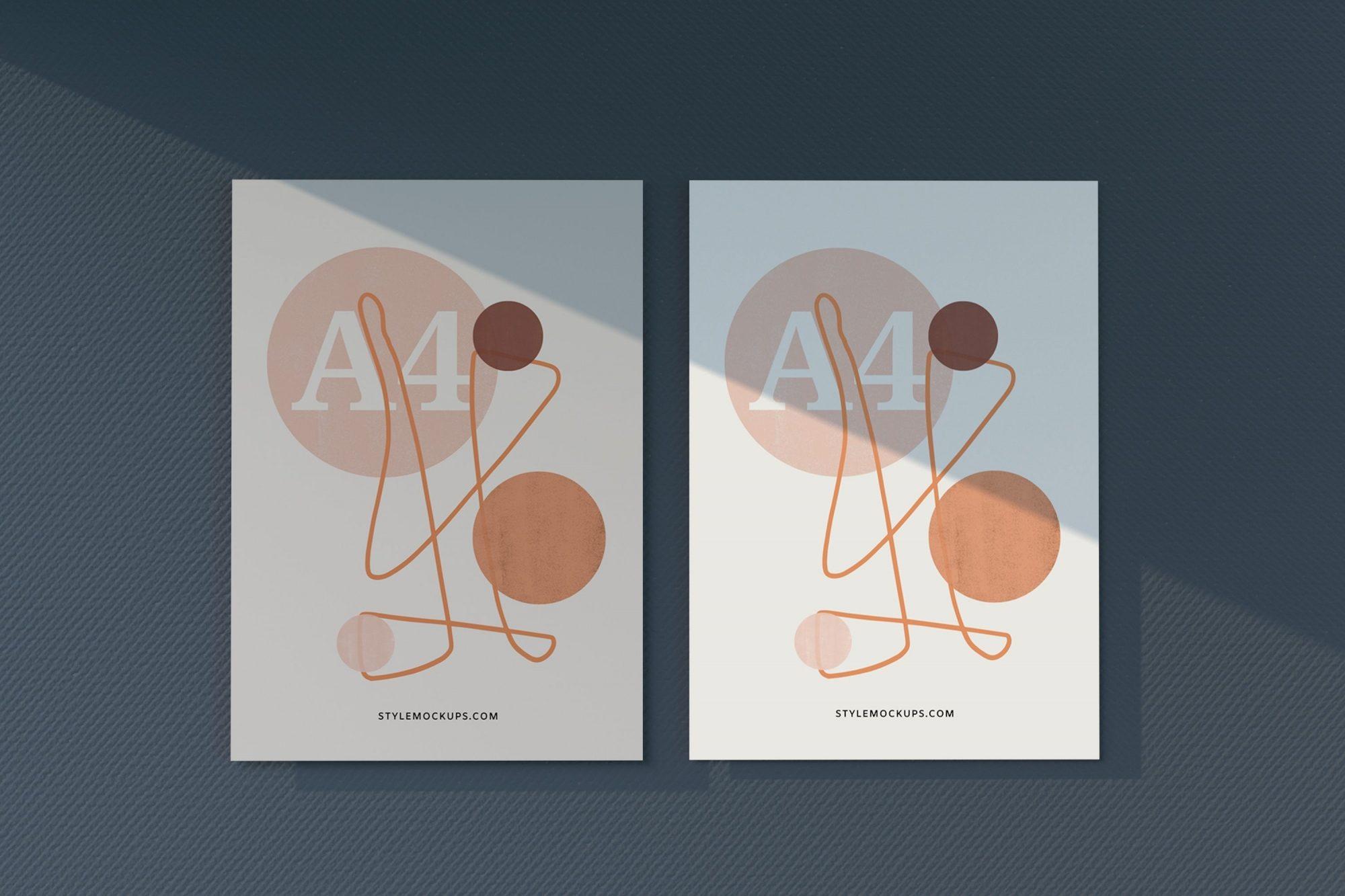 Free A4 Paper Letterhead / Flyer Mockup