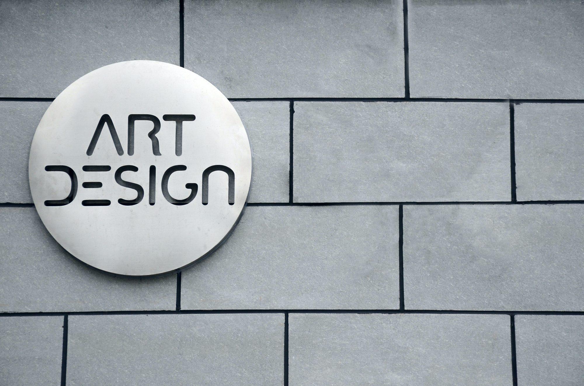 free logo mockup art design preview