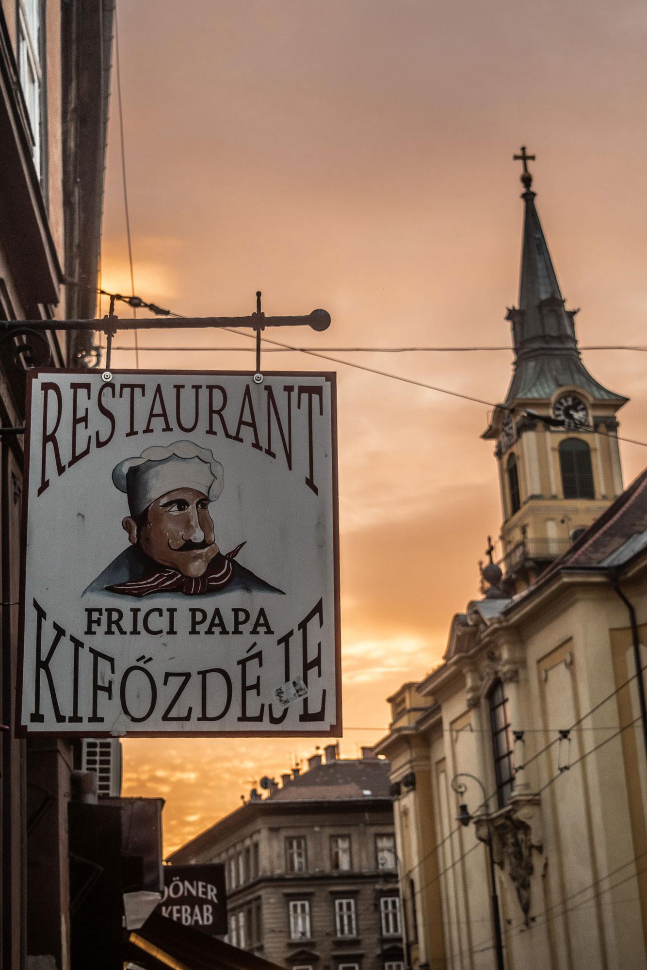Restaurant Signage Mockup preview