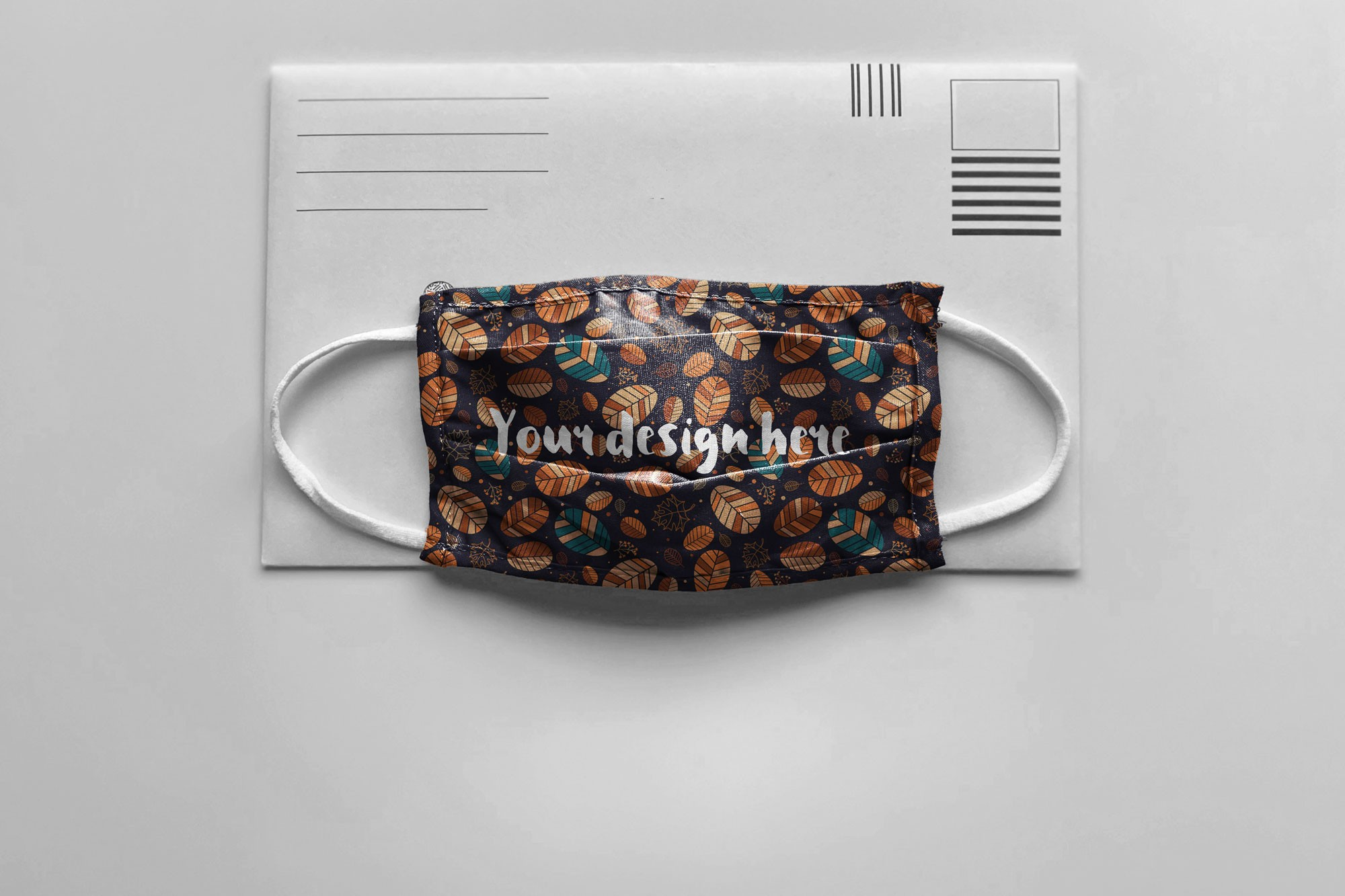 Face Mask on an Envelope