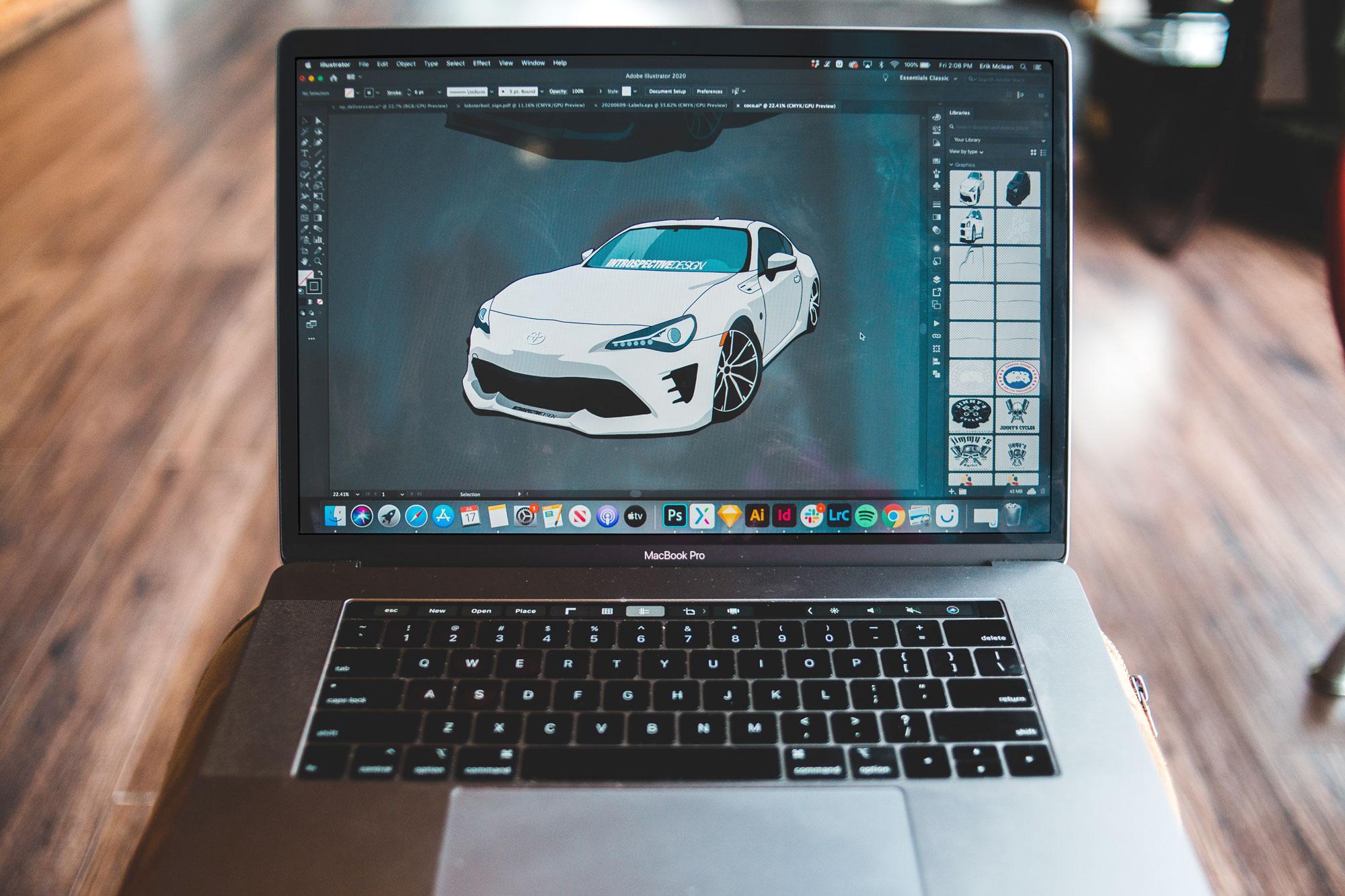 MacBook Pro Laptop Mockup Preview
