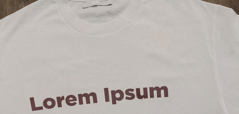 t-shirt text mockup