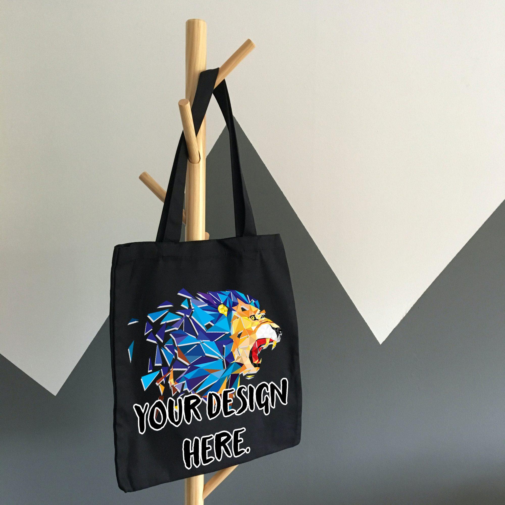 Free Shopper Bag Mockup