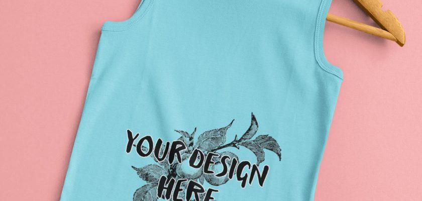 T-Shirt on a Hanger Mockup