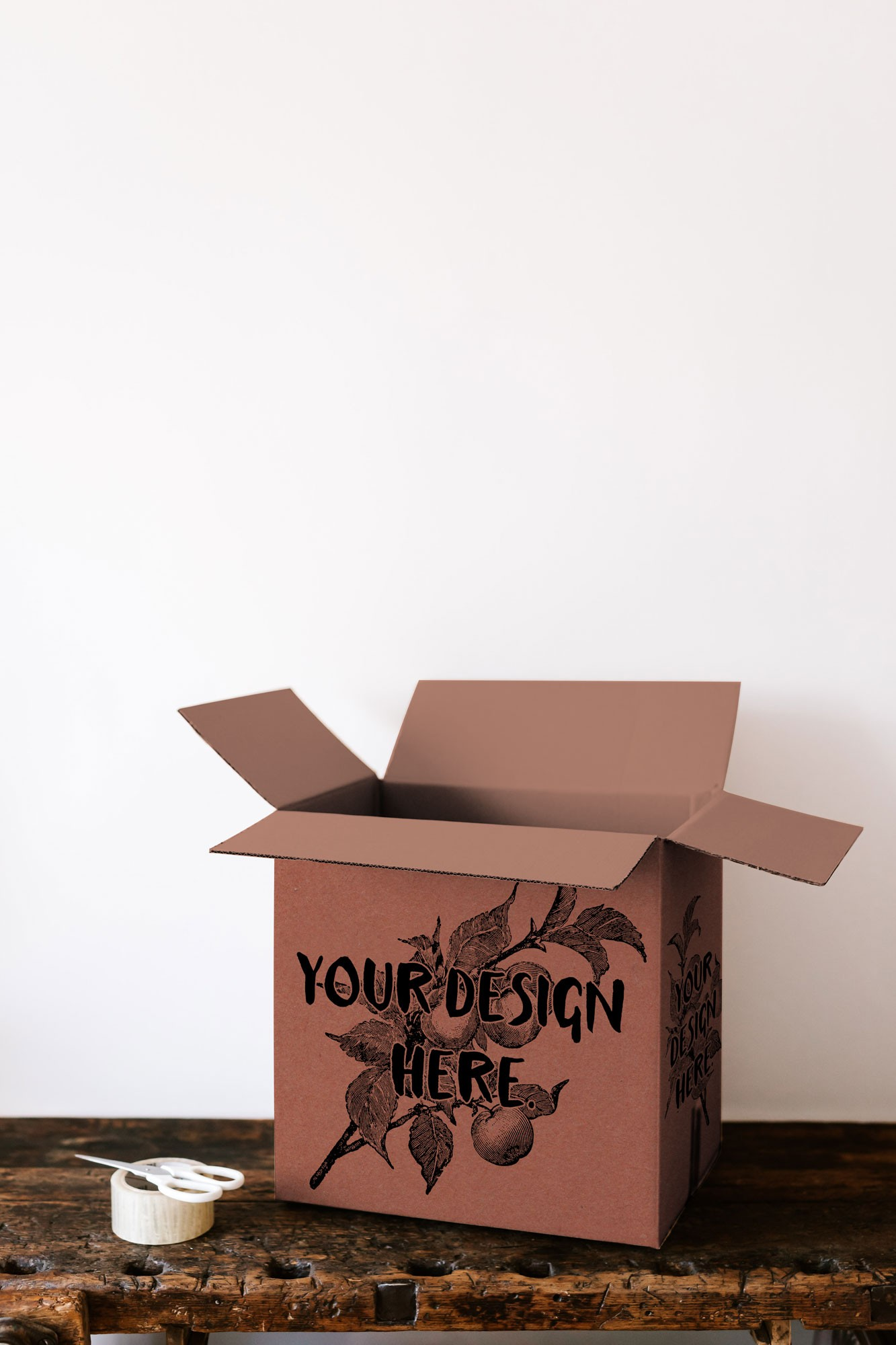 Free Packaging Box Mockup PSD