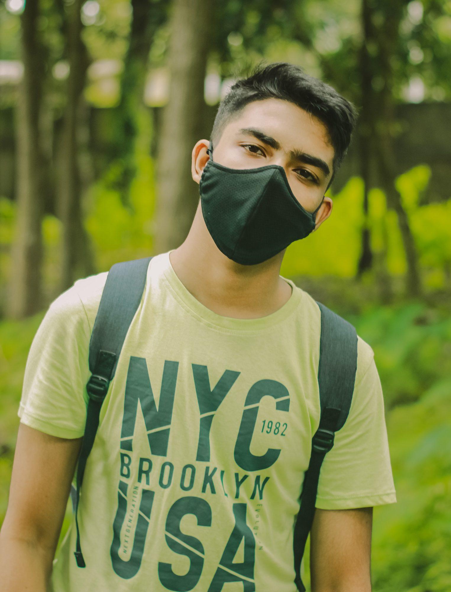 mask and t-shirt mockup free