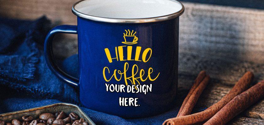Enameled Mug Mockup