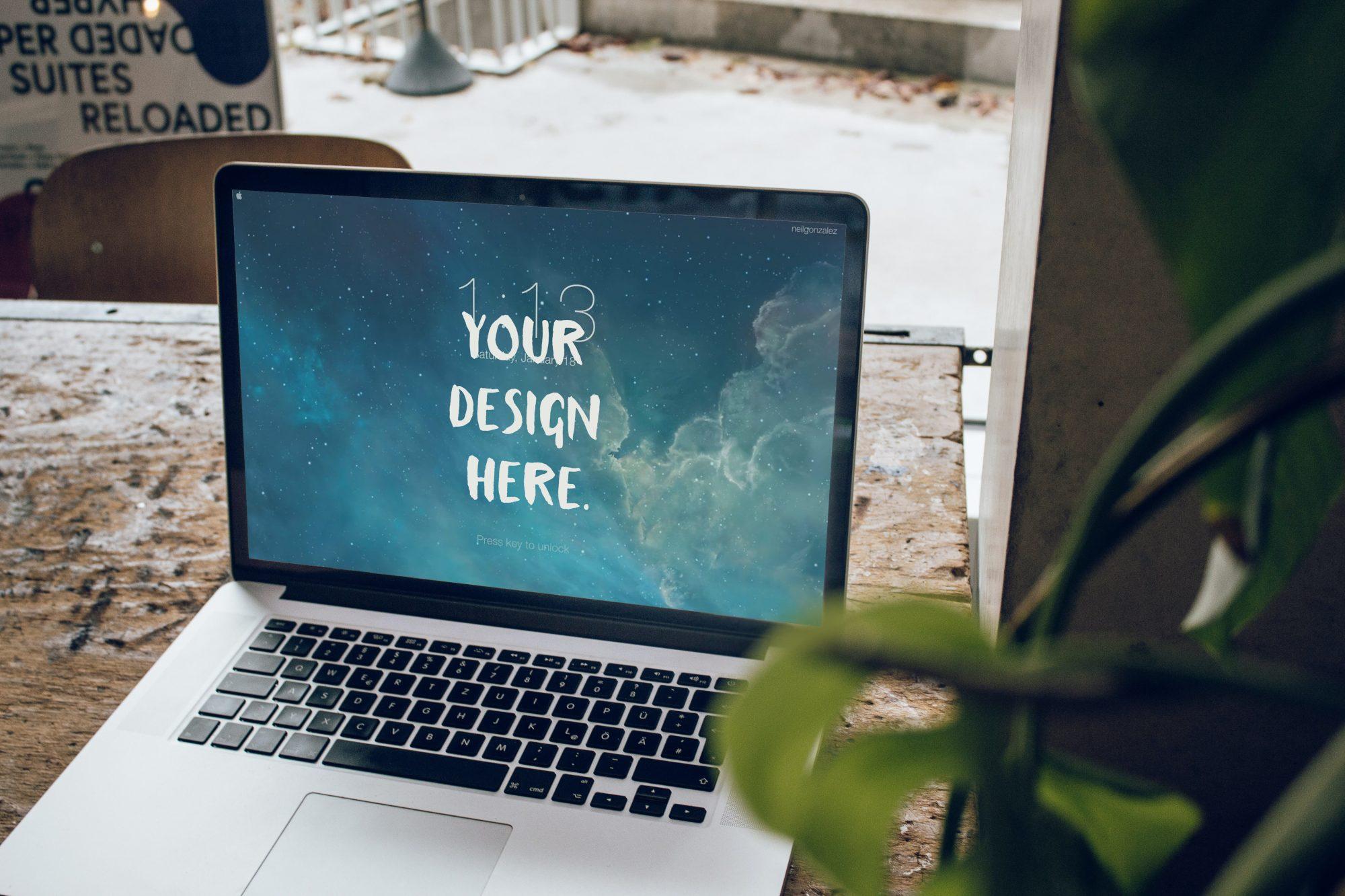Website PSD Mockup
