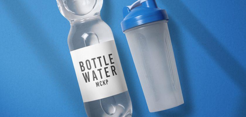 bottle water mockup