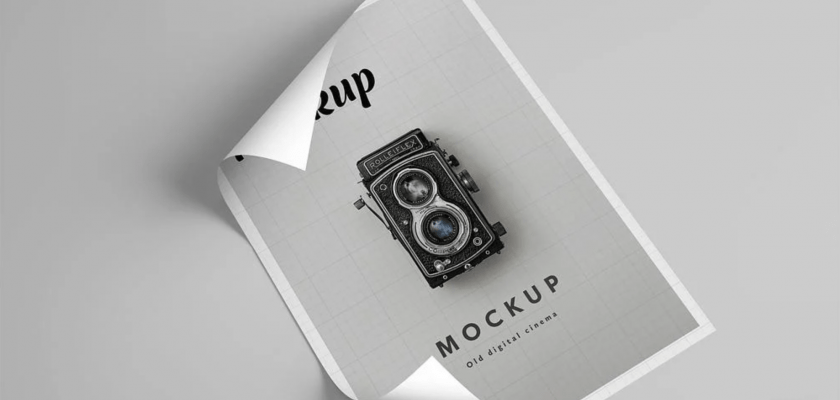 Flyer or Poster Mockup Free